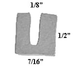 BA-821487 Sponge U-Channel Window Seal 15FT Package