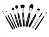 Ultima 10-Piece Professional Make-up Brush Kit With Cylinder Case