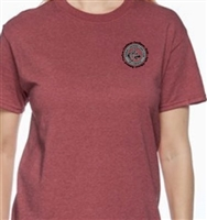 GSDCA Logo TShirt - Heather Red