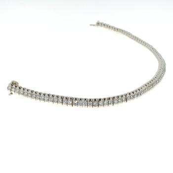 BLD0004 18k White Gold Diamond Bracelet