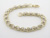 BLD2344 18k Yellow Gold Diamond Bracelet