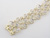 BLD2823 18k Yellow Gold Diamond Bracelet