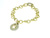 BLD3510 18k Yellow Gold Diamond Bracelet