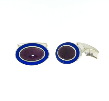 CUF01001 Sterling Silver Cuff Links