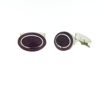 CUF01002 Sterling Silver Cuff Links