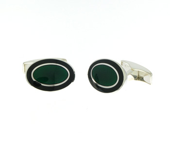 CUF01003 Sterling Silver Cuff Links