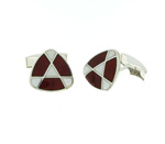 CUF01005 Sterling Silver Cuff Links