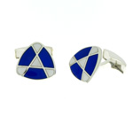 CUF01006 Sterling Silver Cuff Links