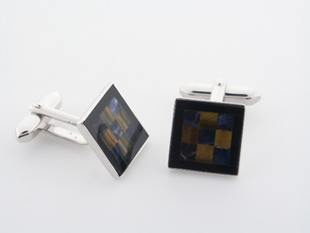 CUF1001 Sterling Silver Cuff Links