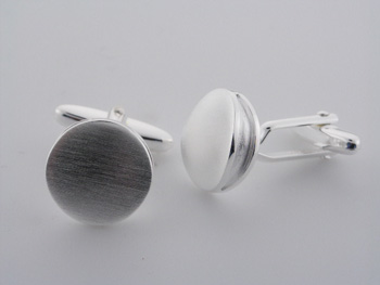 CUF1003 Sterling Silver Cuff Links