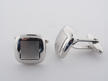 CUF1004 Sterling Silver Cuff Links