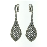 E000003 18k White Gold Diamond Earrings