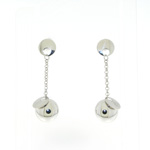 E000005 18k White Gold Earrings