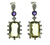 E000006 18k White Gold Lemon Quartz Earrings