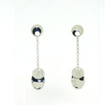 E000010 18k White Gold Earrings