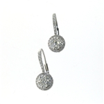 EDC0048 18k White Gold Diamond Earrings