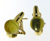 EDC01008 18k Yellow Gold Lemon Quartz Earrings