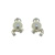 EDC01010 18k White Gold Diamond Pearl Earrings