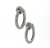 EDC1616 18k White Gold Diamond Earrings
