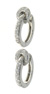 EDC1618 18k White Gold Diamond Earrings