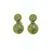 EDC1619 18k Yellow Gold Diamond Earrings