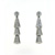 EDC7000 18k White Gold Diamond Earrings