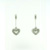 EDP0004 18k White Gold Diamond Earrings