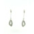 EDP0007 18k White Gold Diamond Earrings
