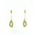 EDP0008 18k Yellow & White Gold Diamond Earrings