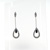 EDP0009 18k White Gold Diamond Earrings