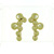 EDP01003 18k Yellow Gold Diamond Earrings