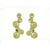 EDP01004 18k Yellow Gold Diamond Earrings
