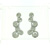 EDP01008 18k White Gold Diamond Earrings