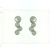 EDP01009 18k White Gold Diamond Earrings
