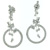 EDP2013 18k White Gold Diamond Earrings
