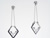 EDP2076 18k White Gold Diamond Earrings