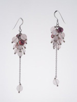 ELS1000 Sterling Silver Murano Glass Earrings