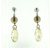 ESP1032 Sterling Silver Crystal Pearl Earrings