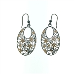 ESP1052 Sterling Silver Drop Earrings