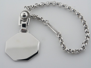 KYC1003 Sterling Silver Key Chain
