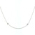 NEC01002 18k White Gold Diamond Necklace