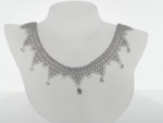 NEC1031 18k White Gold Diamond Necklace