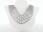 NEC1035 18k White Gold Diamond Necklace