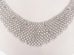 NEC1044 18k White Gold Diamond Necklace