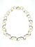 NEC1074 18k White & Yellow Gold Diamond Necklace