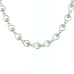 NEC1076 18k White Gold Diamond Necklace