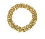 NEC1084 18k Yellow Gold Diamond Necklace