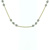 NEC1096 18k Yellow Gold Diamond Necklace