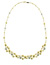 NEC1102 18k White & Yellow Gold Diamond Necklace