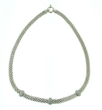 NLS0045 Sterling Silver Necklace